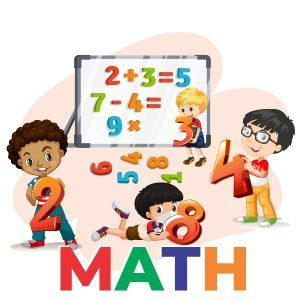 kids learning hands-on math