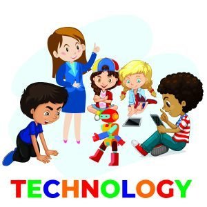 kids learning coding and robotics